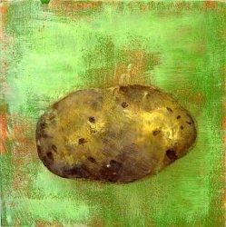peinture pomme de terre expression france