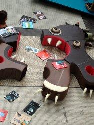 monstre canapé puzzle pièces détachées