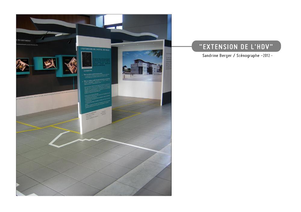 exposition, extension de l'hôtel de ville de Saint-Herblain
